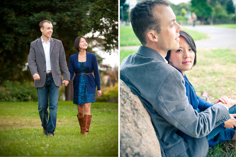 Jean and Zach's Engagement Session, Berkeley, CA - Bay Area Wedding Photographer