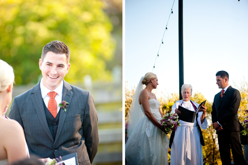 Couple during Mar Vista Wedding with Reverend Elizabeth Rivers