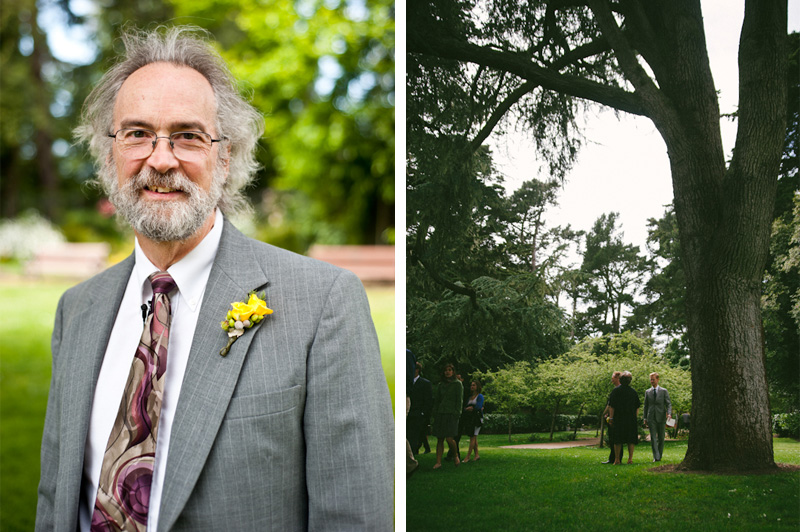 Father of Groom in Golden Gate Park