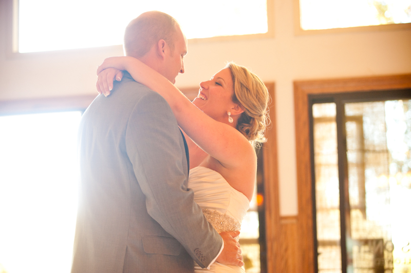 Bride and Groom during First Dance at Bay Area Wedding