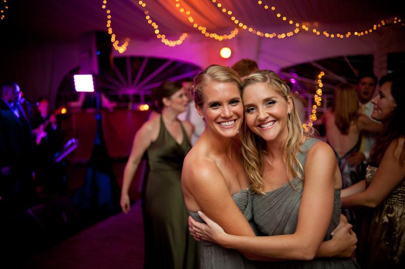 Portrait of bridesmaids at Viansa Winery