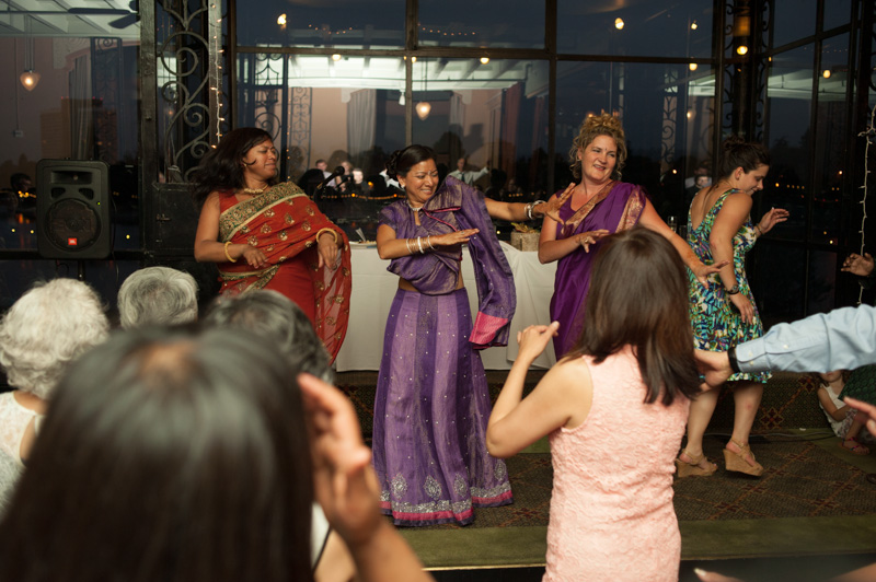 Traditional Indian dancing at the Terrace Room in Oakland