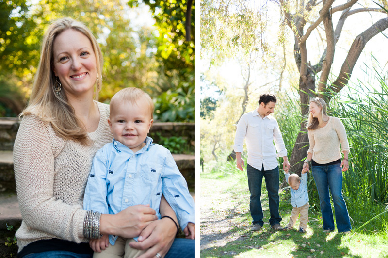 Family portrait session in Oakland