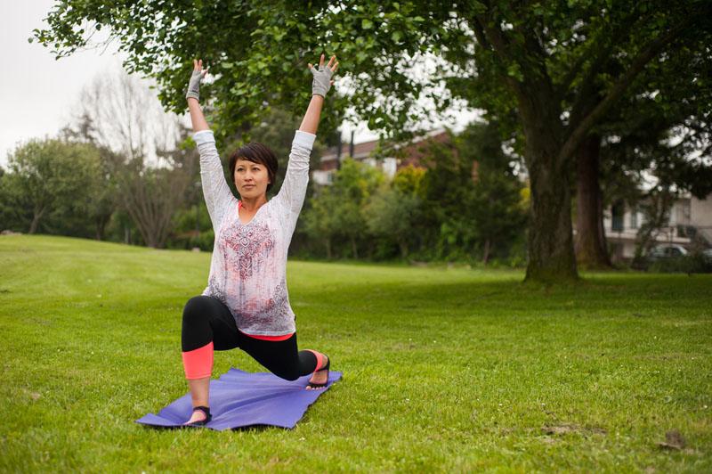 Yoga portraits with Nicolette Tura