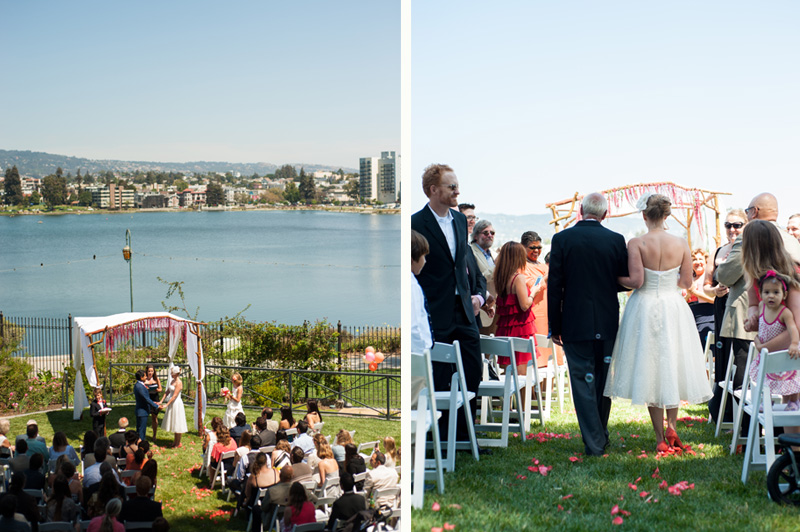 Wedding at the Camron-Stanford House in Oakland
