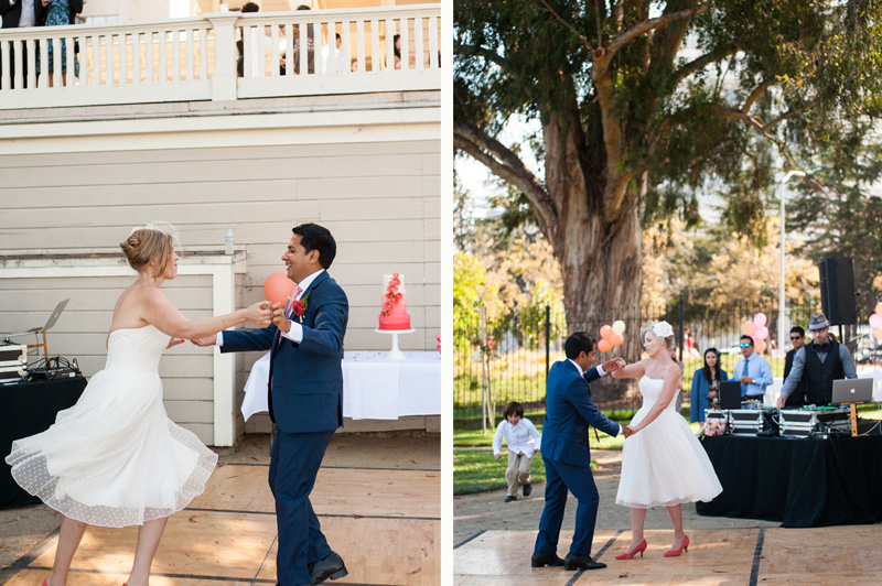 First dance at Camron-Stanford House in Oakland