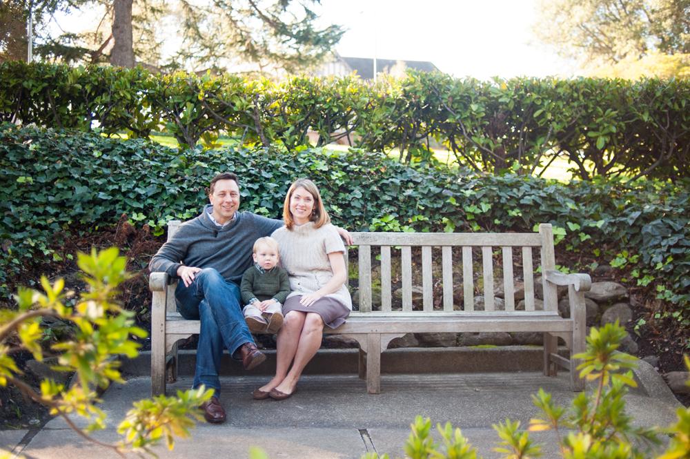 Family portraits in Piedmont Park