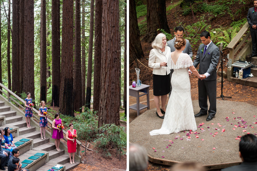 Wedding at UC Berkeley Botanical Garden