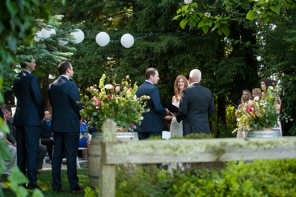 Wedding at the Vine Hill House