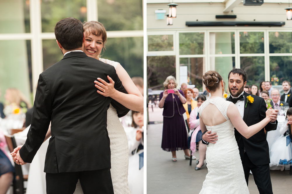 First dance at the Beach Chalet Brewery in San Francisco