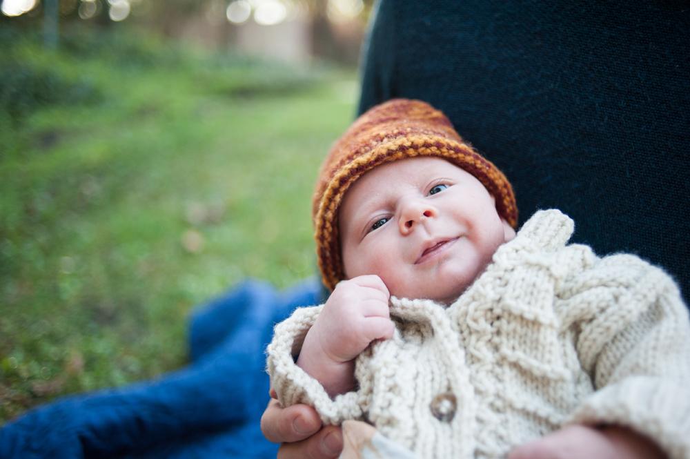 Sweet little baby at Live Oak Park in Berkeley