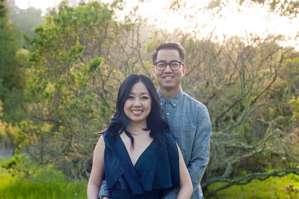 Happy couple in Tilden Park
