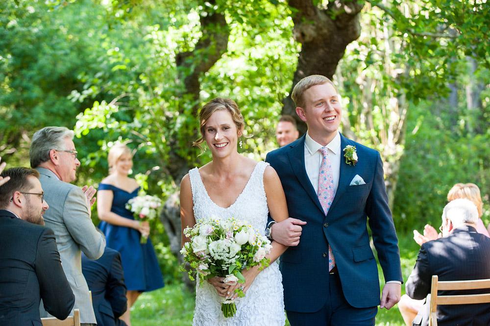 Wedding at Dawn Ranch in Guerneville