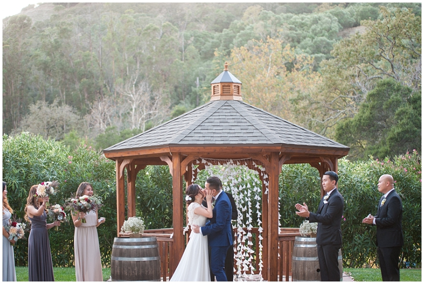 Wedding at Elliston Vineyards