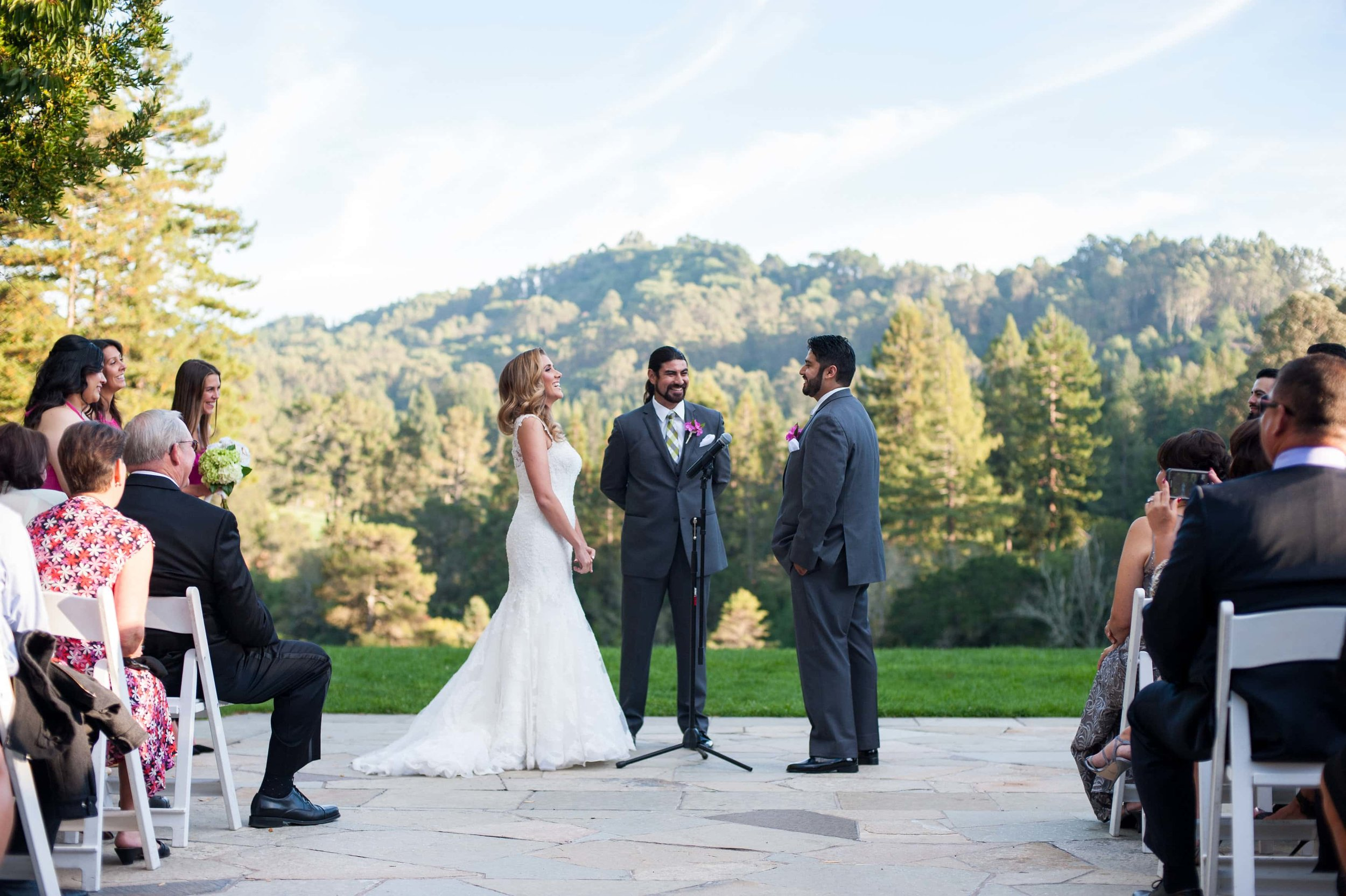 Wedding at the Brazilian Room in Tilden Park