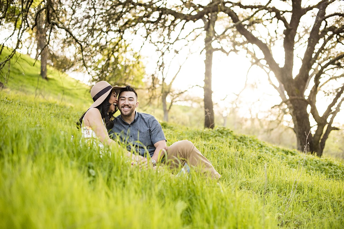 Engagement session in Walnut Creek