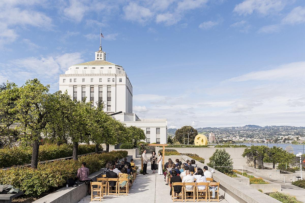 Oakland Museum Wedding