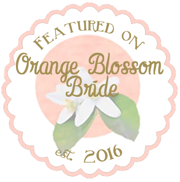 as Featured on the Orange Blossom Bride