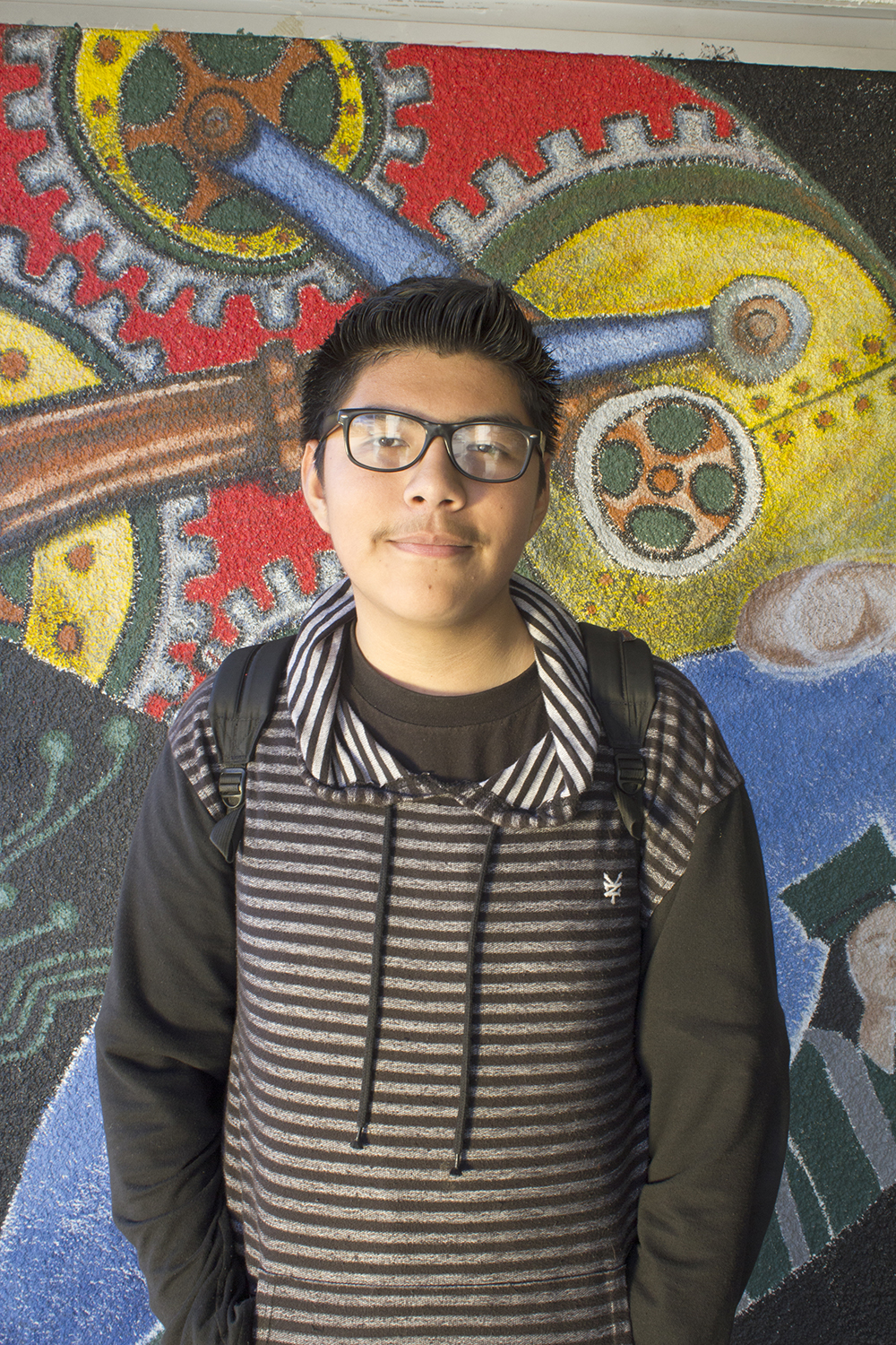 Bryan, 15   Diego Rivera Learning Complex