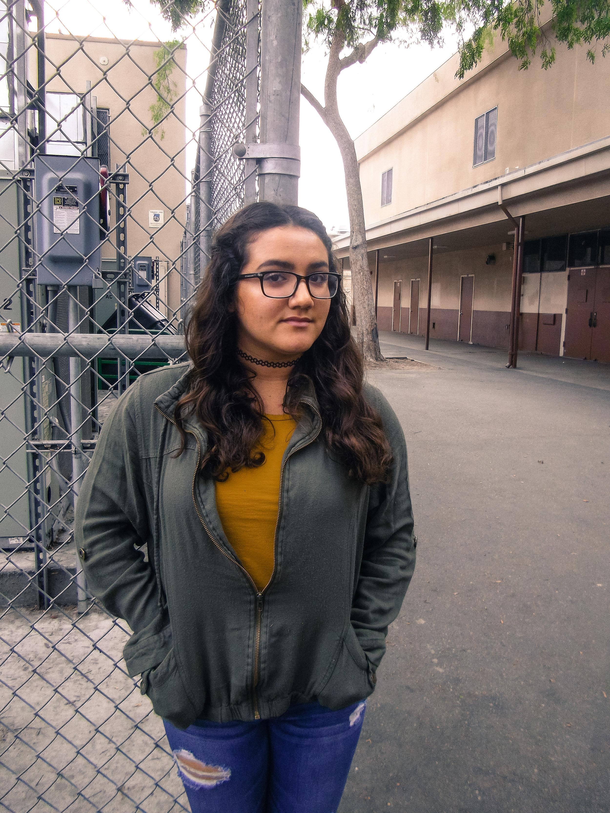 Amber, 16   Bell High School