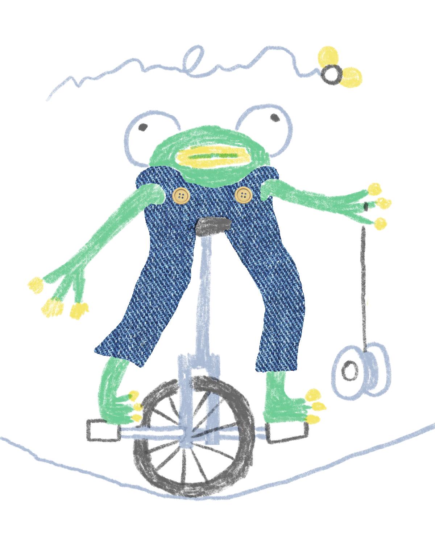 Circus Frog