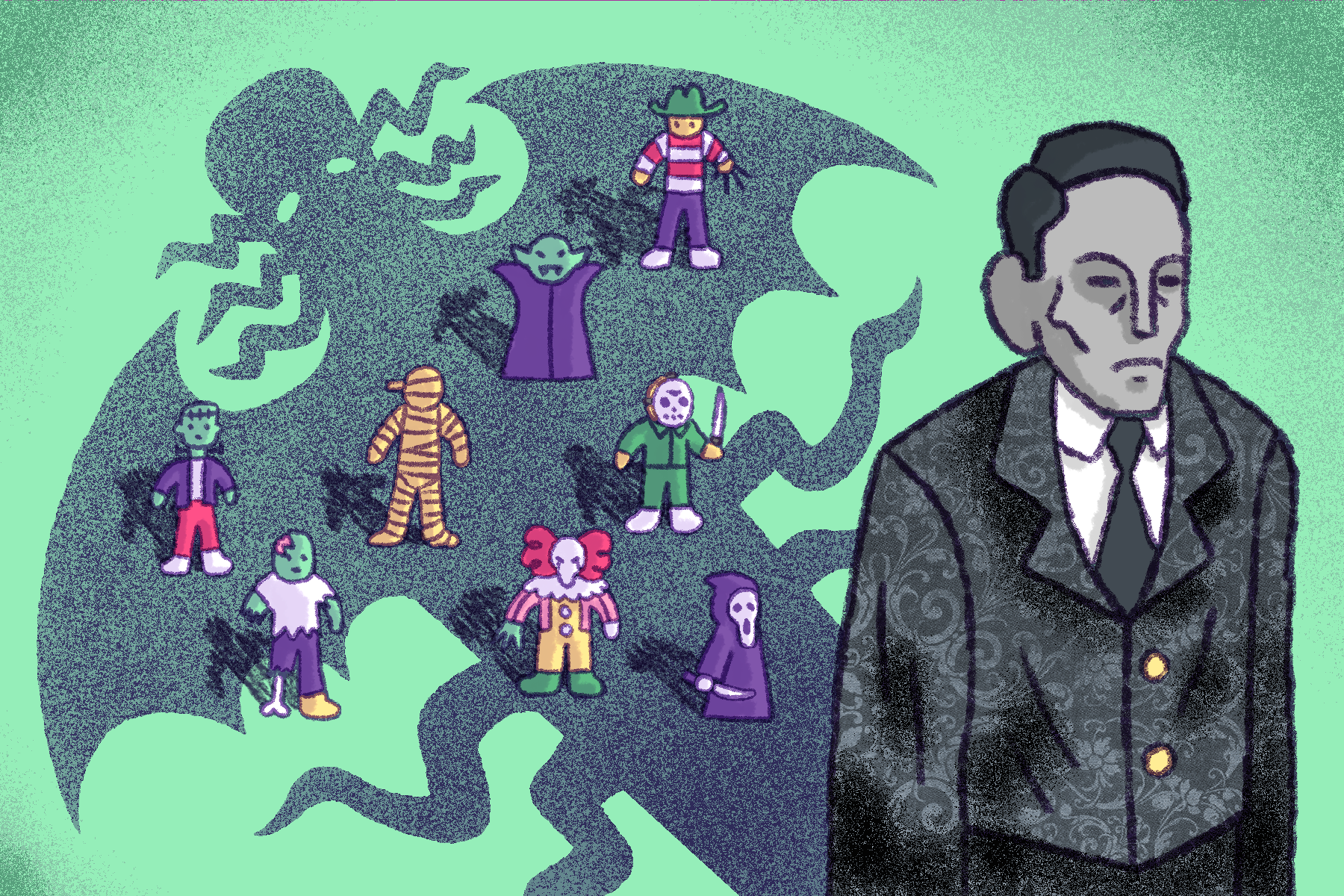 """Mock editorial for the NPR article """"H.P. Lovecraft and the Shadow Over Horror"""""""