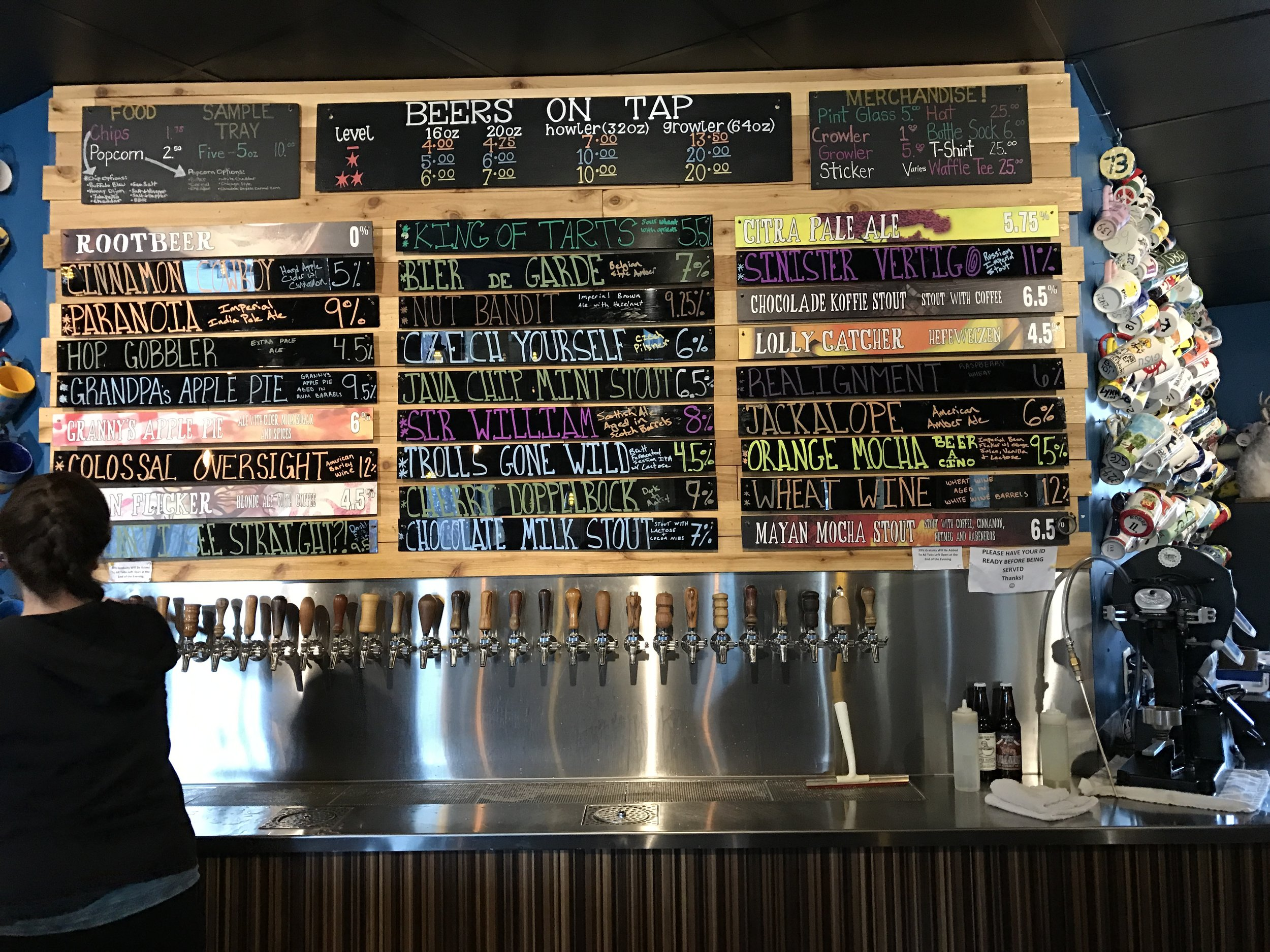 This pic is from my trip to Oddside Ales in Grand Haven, MI