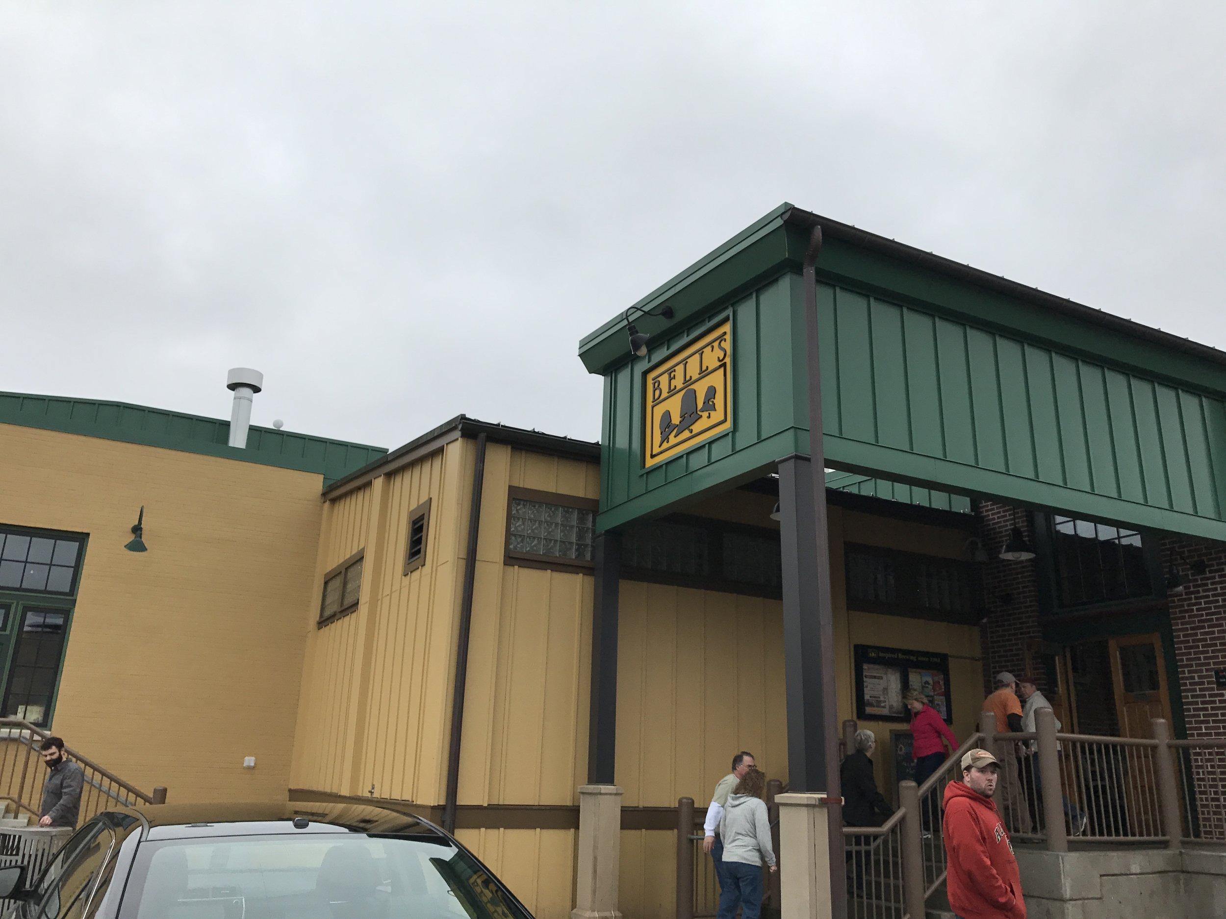 Outside of Bell's
