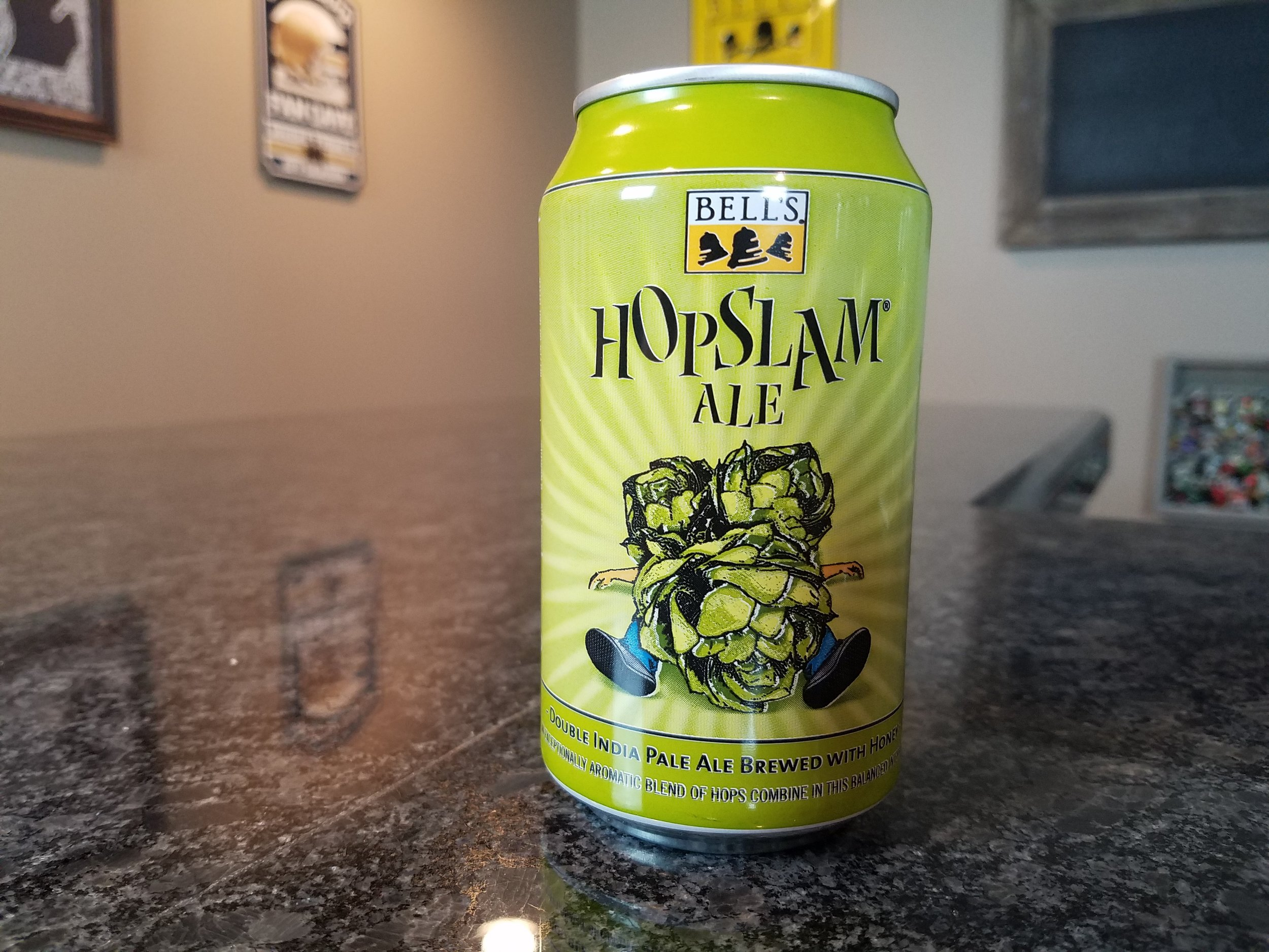 Hopslam 2017 10% ABV 70 IBUs - Want to see the Video review? Click on the image.