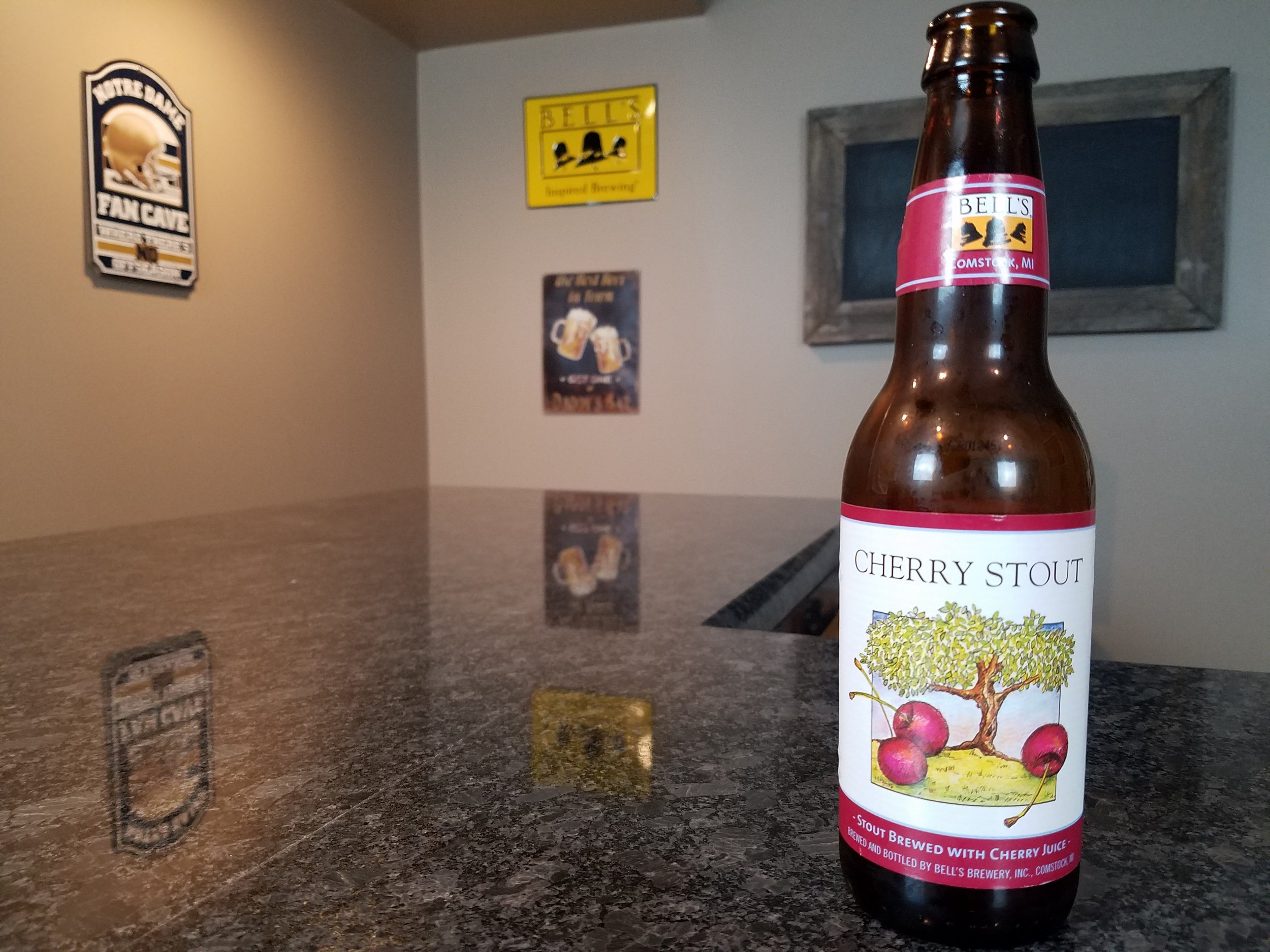 Cherry Stout 7% ABV - Want to see the Video review? Click on the image.
