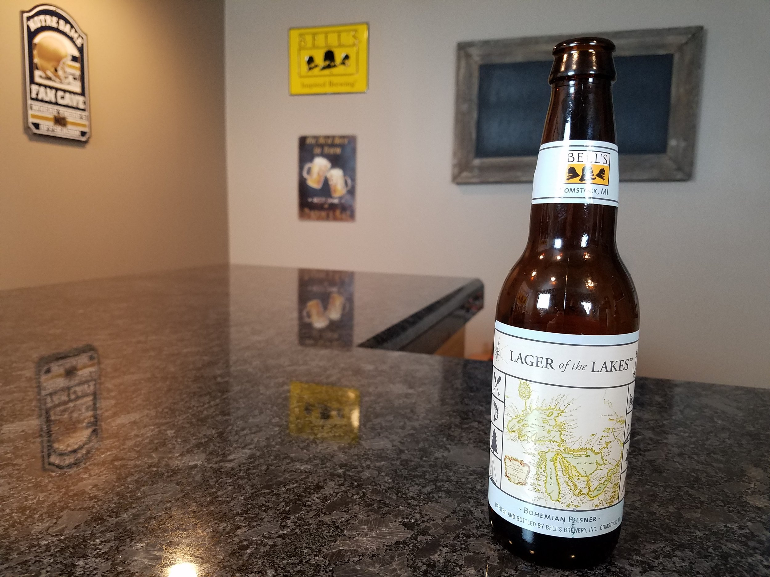 Lager of The Lakes 5% ABV - Want to see the Video review? Click on the image.