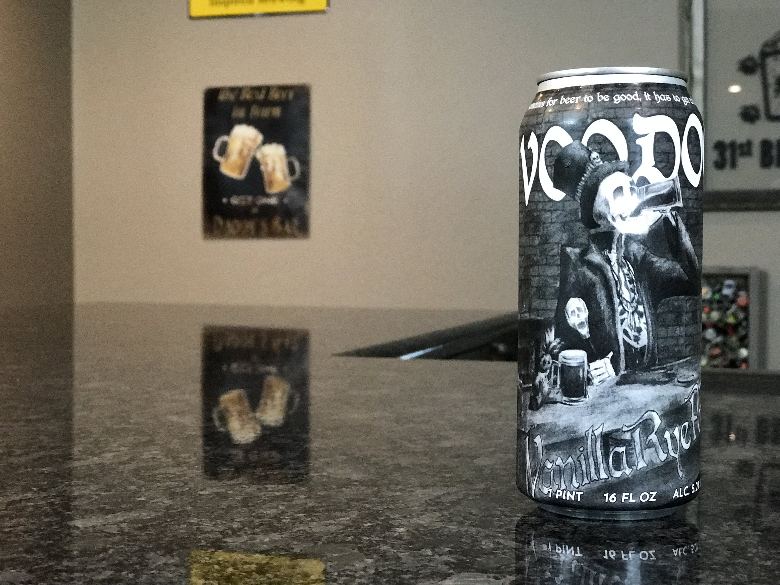VOODOO VANILLA RYE PORTER 5.2% 30 IBUs - Want to see the Video review? Click on the image.