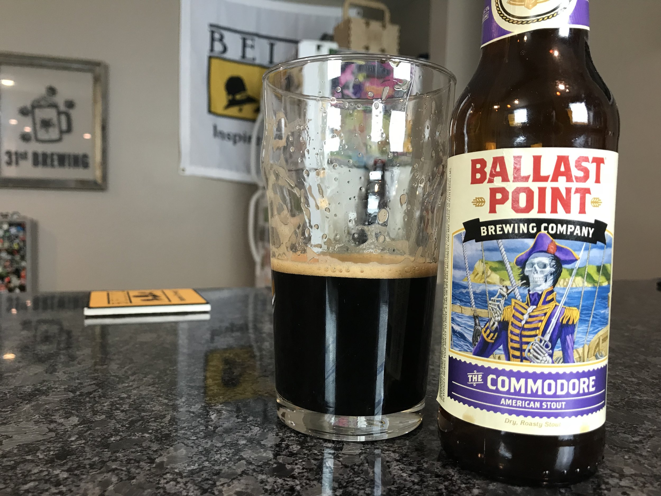 THE COMMODORE 6.5% ABV 62 IBUS - Want to see the Video review? Click on the image.