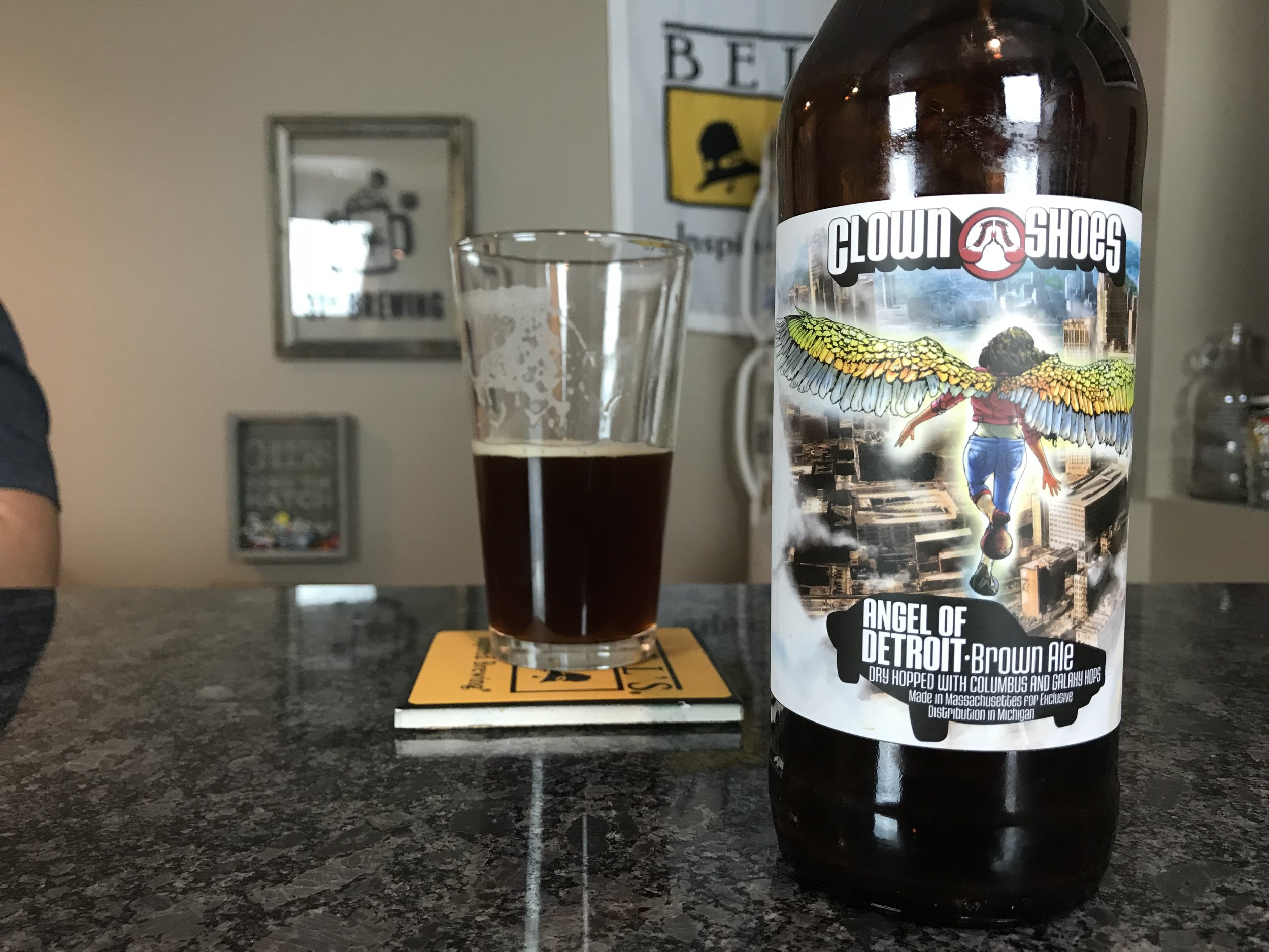 Angel of Detroit 9% ABV - Want to see the Video review? Click on the image.