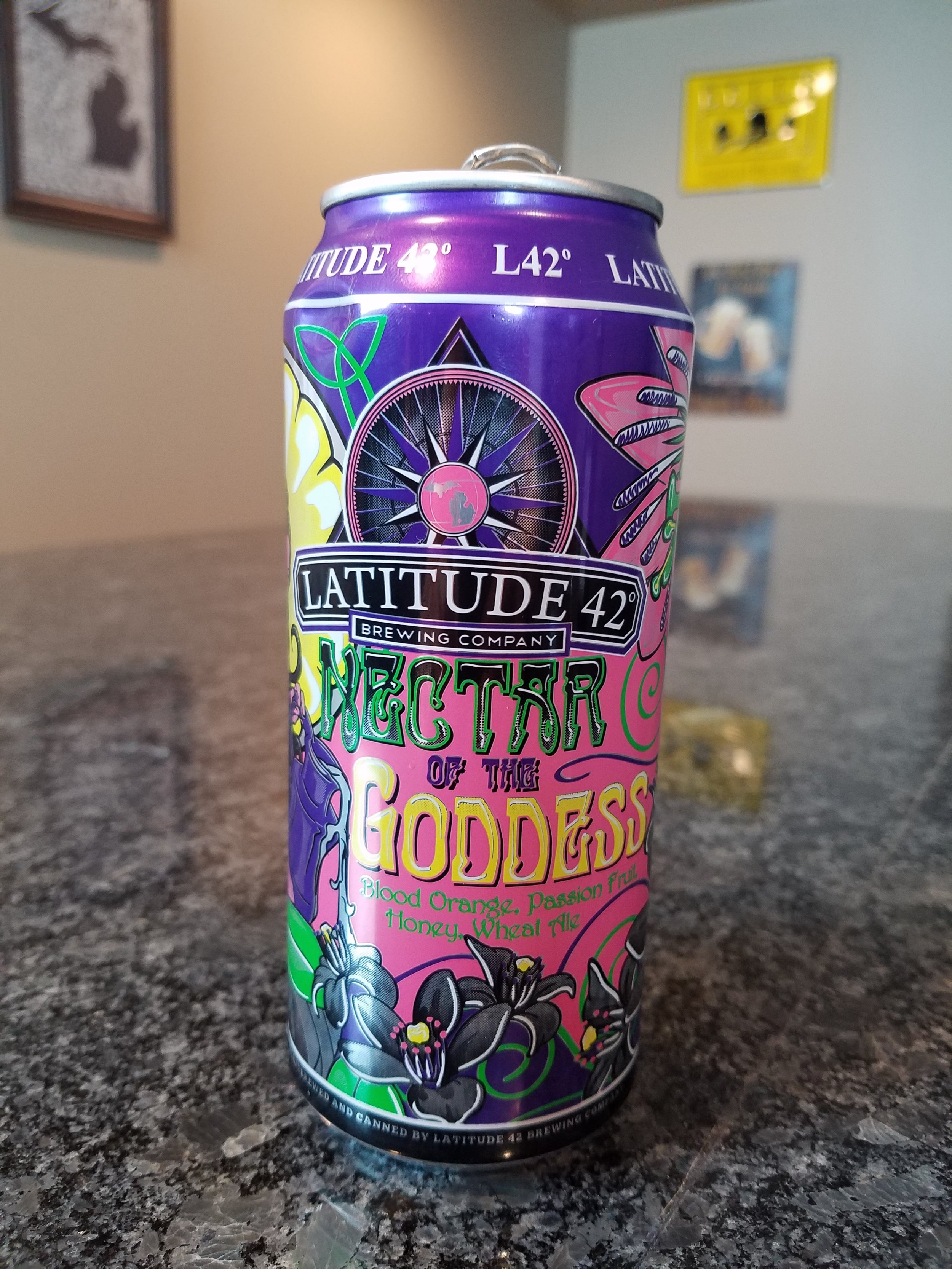 Nectar of the Goddess 4.8% - Want to see the Video review? Click on the image.