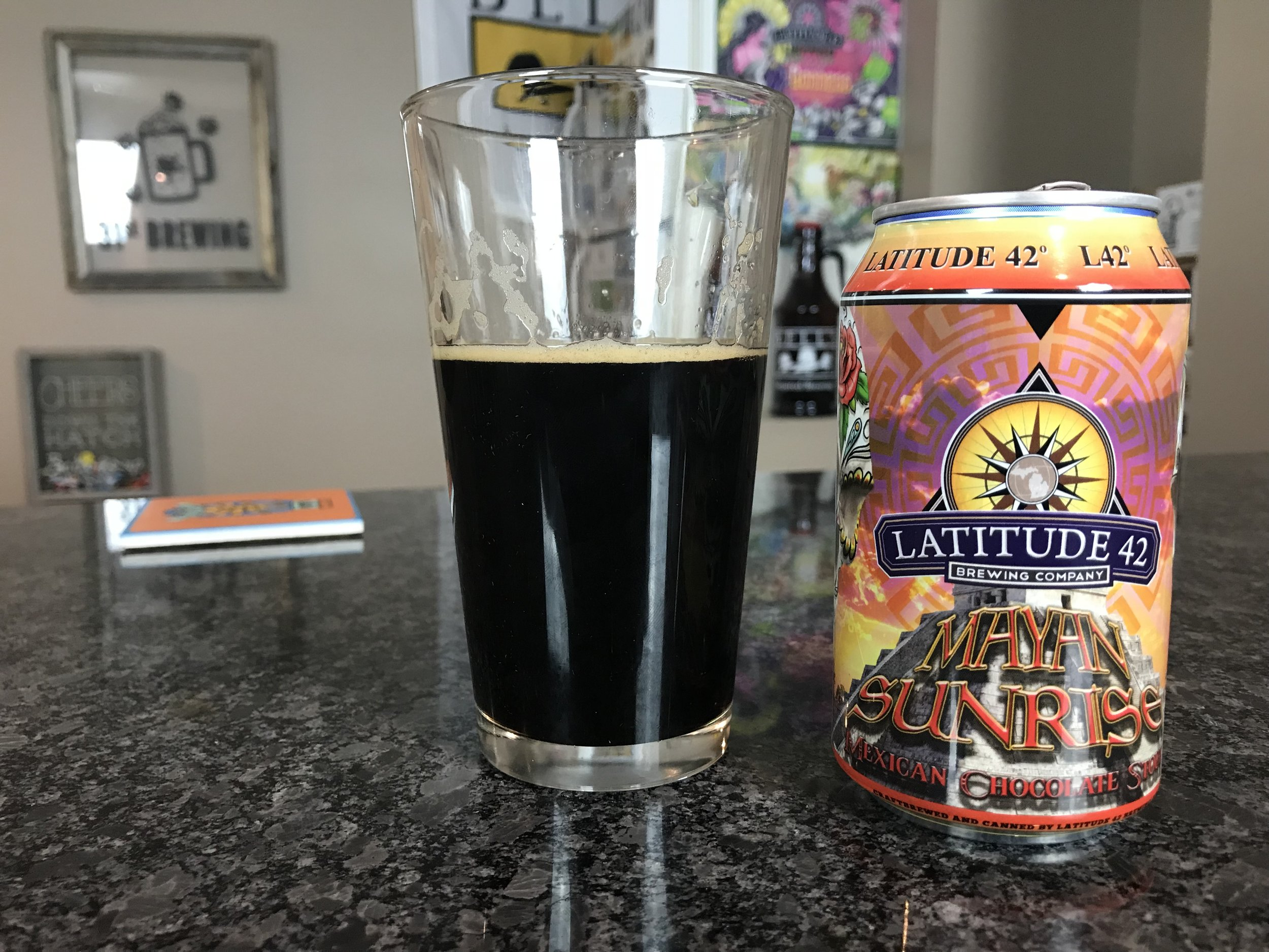 Mayan Sunrise 7% ABV - Want to see the Video review? Click on the image.
