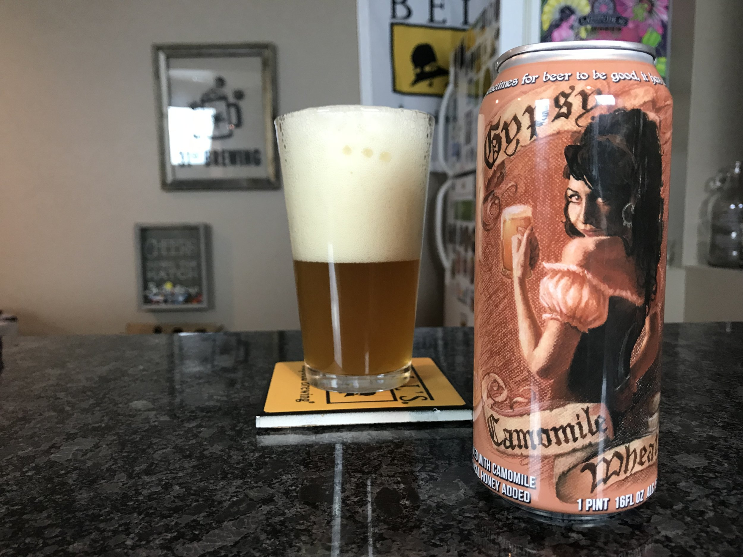 Gypsy Camonile 5.8% ABV - Want to see the Video review? Click on the image.