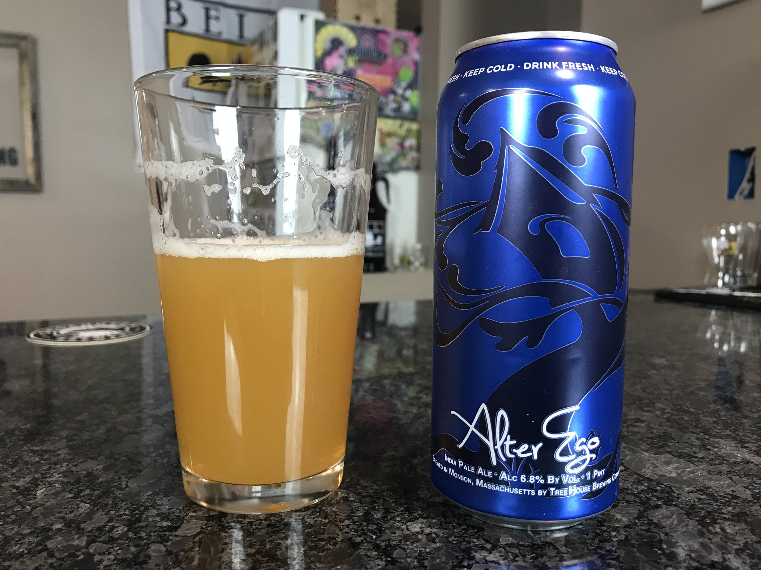 Alter Ego 6.8% ABV - Want to see the Video review? Click on the image.