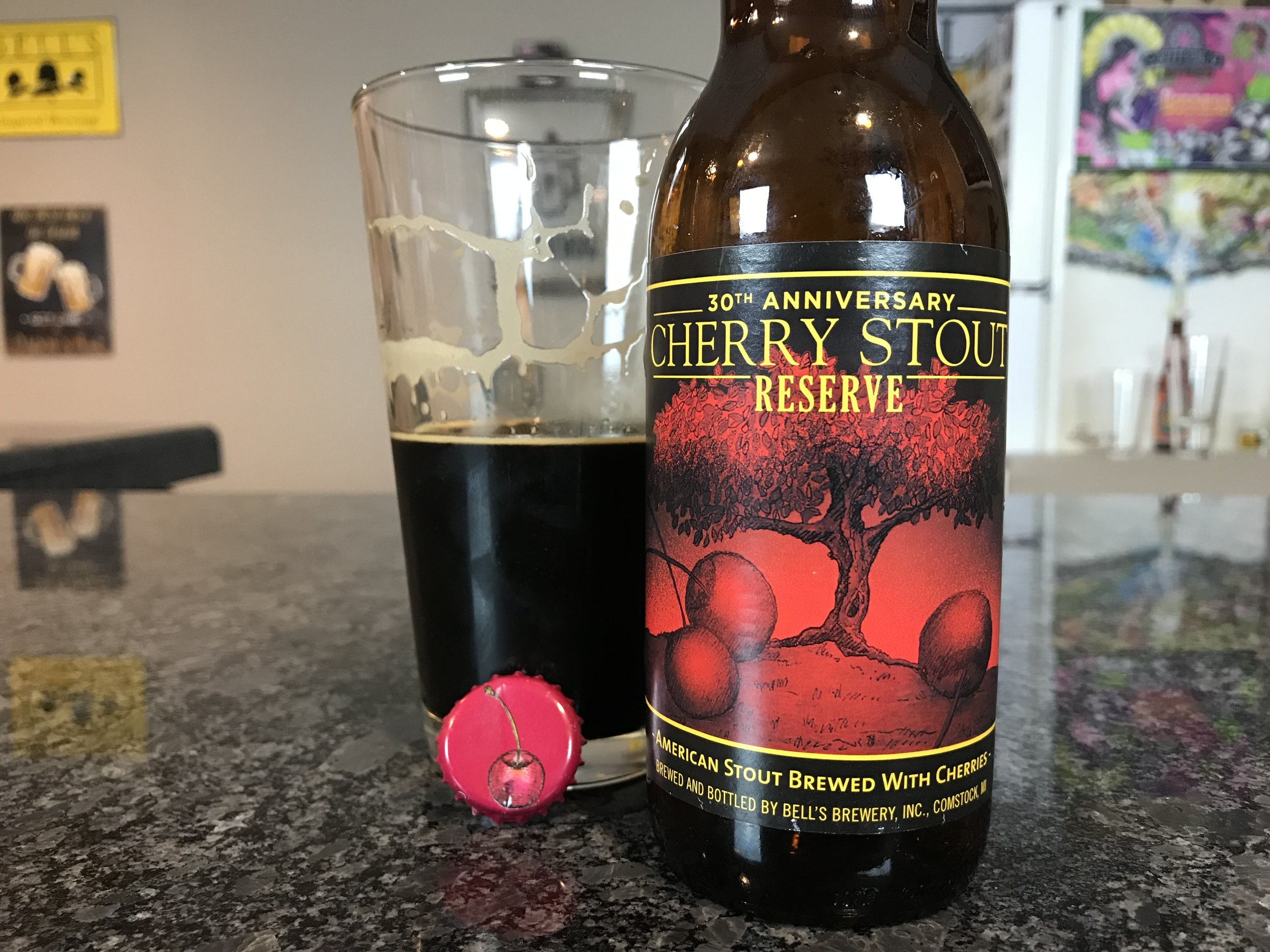 30th Anniversary Cherry Stout - Want to see the Video review? Click on the image.