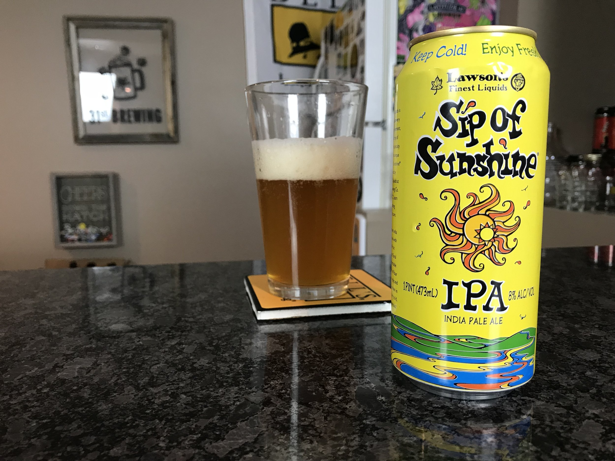 Sip of Sunshine 8% - Want to see the Video review? Click on the image.