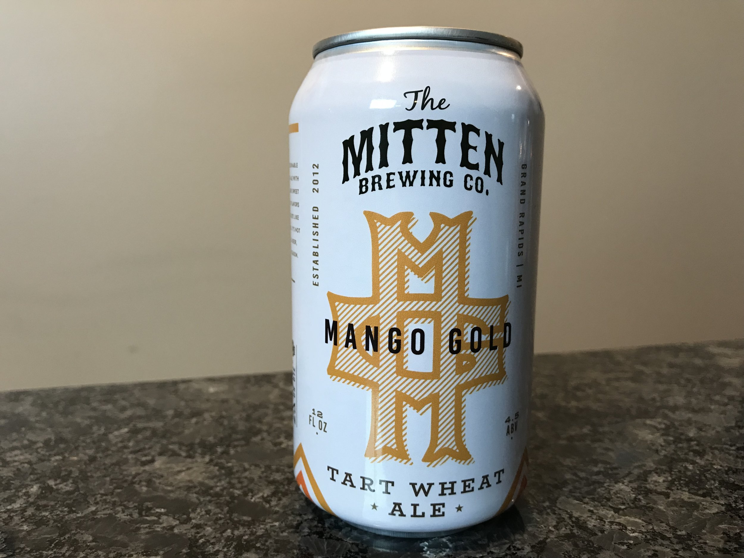 Mango Gold 4.5% ABV - Want to see the Video review? Click on the image.