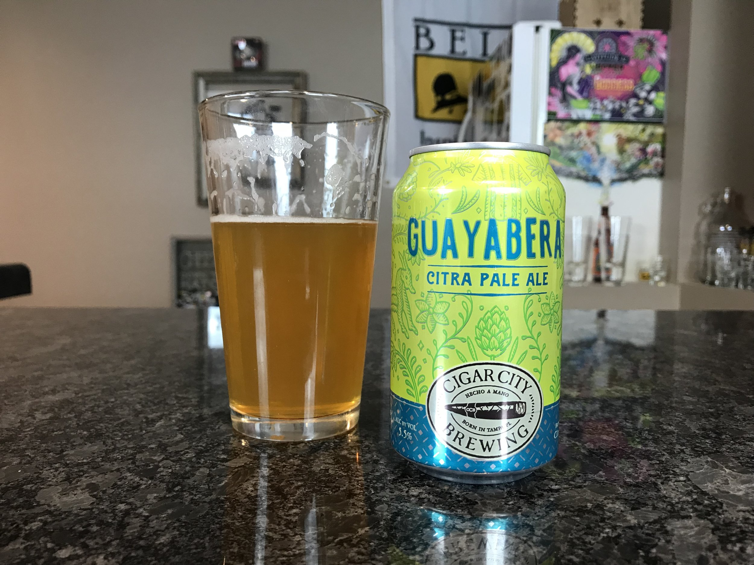 Guayabera   5.5% ABV 50 IBUs