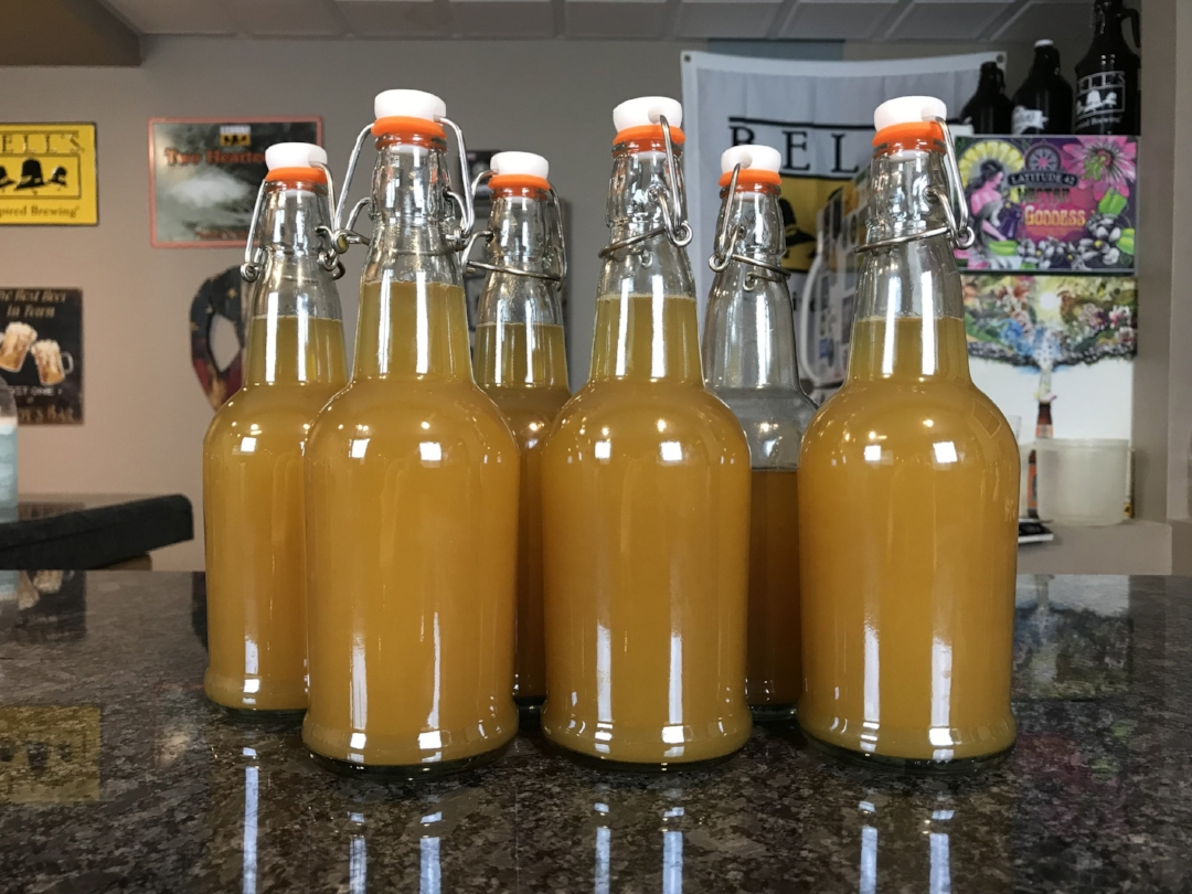 Here are the 5-1/2 bottles from my 1st batch