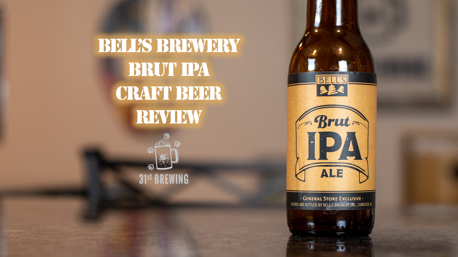 Brut IPA 6% - Want to see the Video Review? Click on the Image