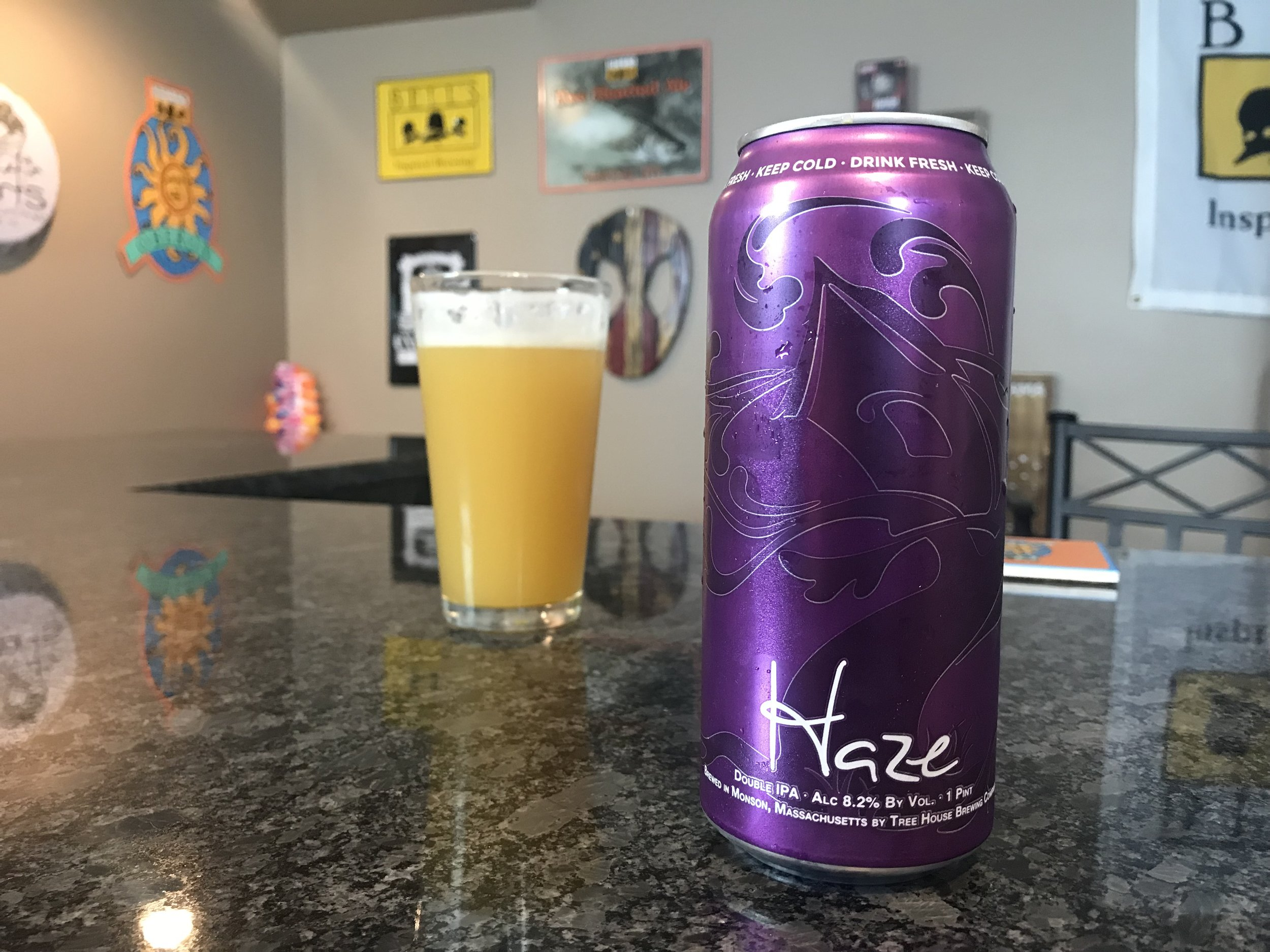 Haze DIPA 8.2% - Want to see the Video Review? Click on the image.