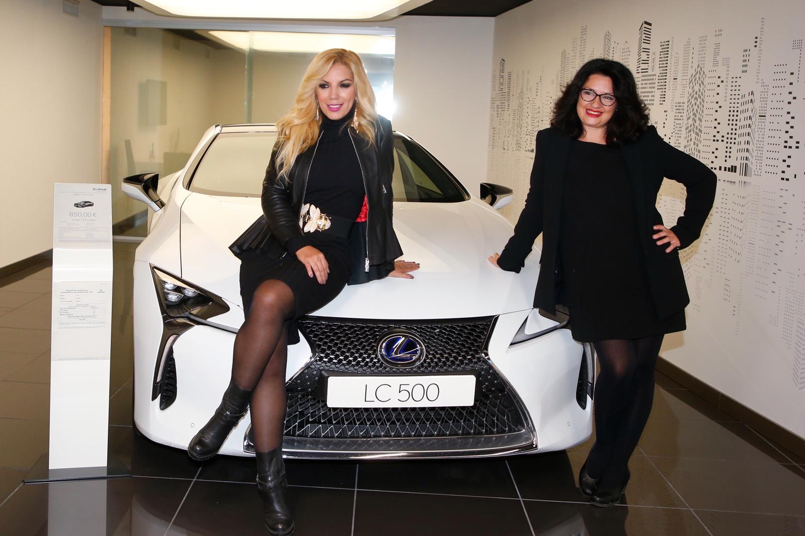 imagen: LexusBarcelona  Rebeca Pous y Eva Cuende