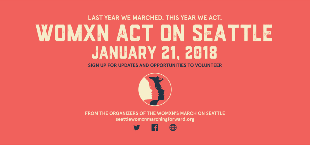 On the anniversary of the Womxn's March, the organizers are putting together a day of actions around the city. Bring the family, bring your partners, bring your friends and make democracy happen.