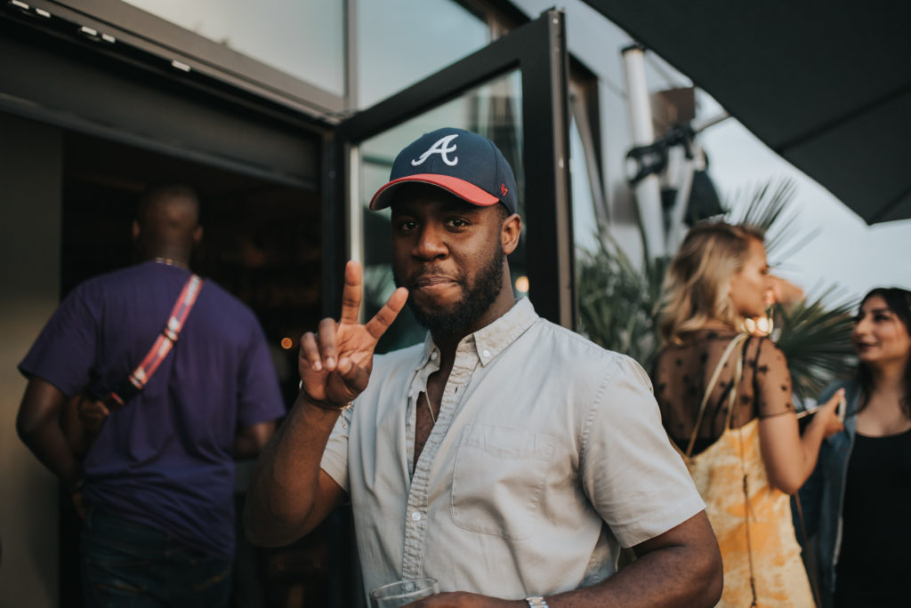 Anthony hosting Laid Back Allure: The Social Club at The Cloud Room, Spring 2018