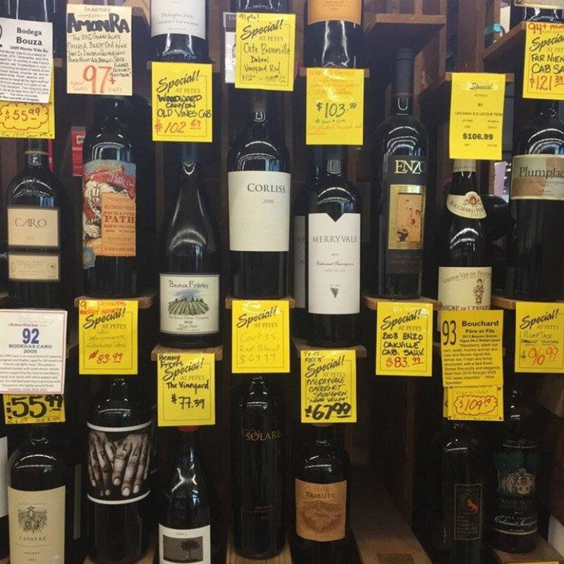 Pete's Wine Shop