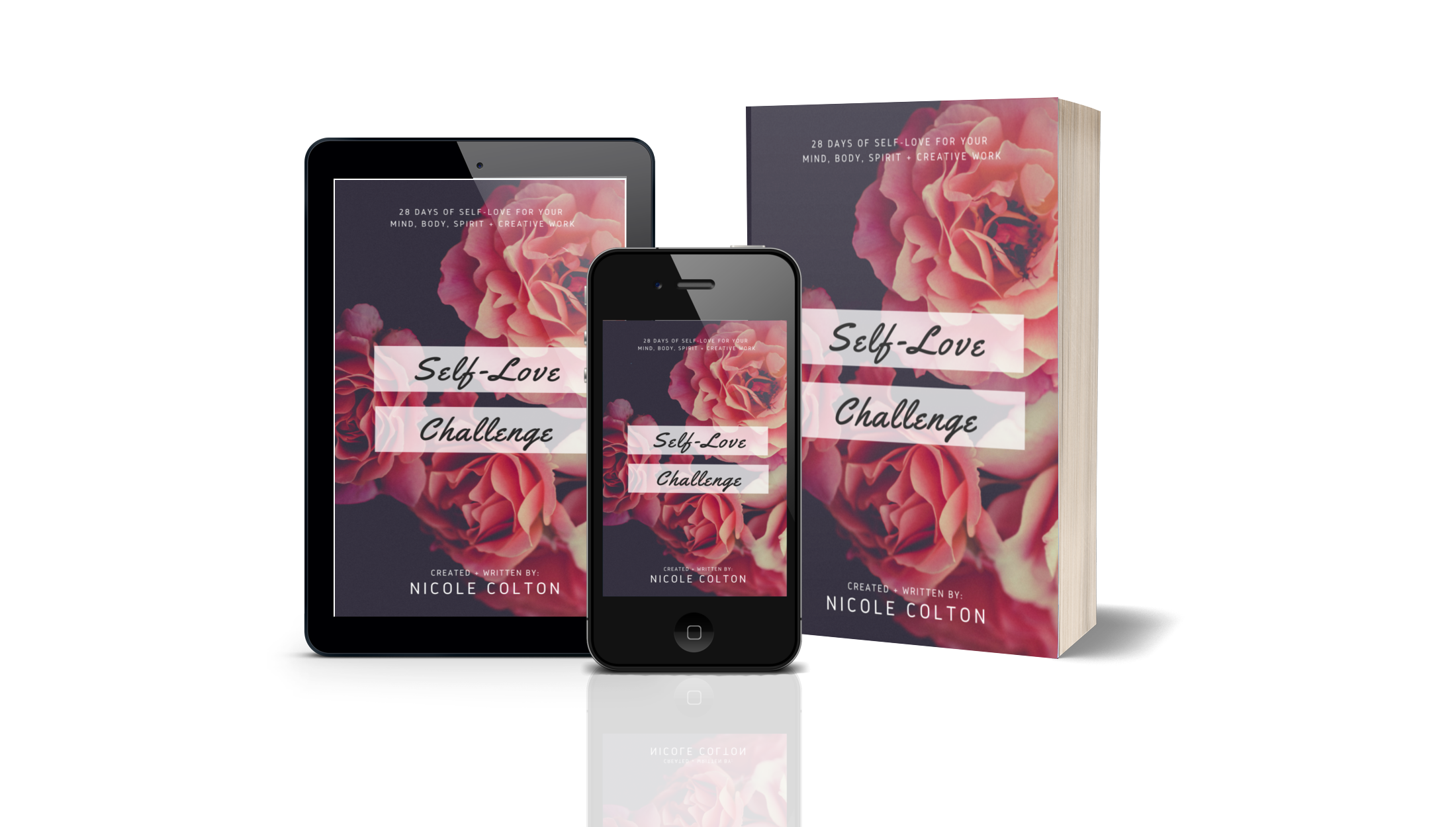 self love challenge book cover art